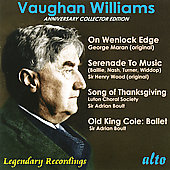 Vaughan Williams: On Wenlock Edge, etc / Wood, Boult, et al