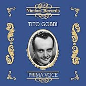 Prima Voce - Tito Gobbi