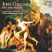 Galliard: Pan and Syrinx;  etc / Wentz, Zomer, Wemyss, Pantus, et al