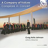 A Company of Voices - Conspirare in Concert / Johnson, et al