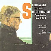 Stokowski Conducts Shostakovich / Philadelphia Orchestra, NBC Symphony Orchestra, et al