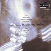 Kverno: St. Matthew Passion