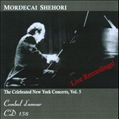 Shehori / The Celebrated New York Concerts, Vol. 5