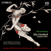 Stravinsky: The Firebird (Complete); Sibelius; Tchaikovsky & Chopin / Andrew Litton
