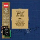 Beethoven: Triple Concerto; Brahms: Double & Triple Concertos / Oistrakh, Rostropovich & Richter [Limited Ed.]