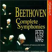 Beethoven: The Nine Symphonies / Peter Maag