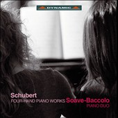 Franz Schubert: Four Hand Piano Works / Chiara Soave and Cecilia Baccolo, pianos