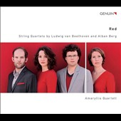 Red: String Quartets by Beethoven & Berg / Amaryllis Quartett