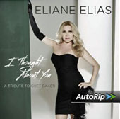 Eliane Elias: I Thought About You: A Tribute to Chet Baker
