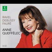 Works by Ravel, Debussy, Fauré / Anne Queffélec, piano; Pierre Amoyal, violin