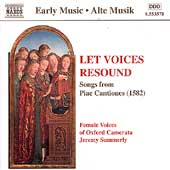 Let Voices Resound - Songs from Piae Cantiones / Summerly