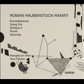 Roman Haubenstock-Ramati (1919-1994): String Trio; Pluriel for string quartet; Multiple 4, for oboe & horn & other chamber works / Klangforum Wien; Vera Fischer, flutes