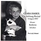 Clara Haskil - The Salzburg Recital - 8 August 1957