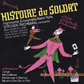 Stravinsky: Histoire du Soldat, etc / Harmonie Ensemble, etc