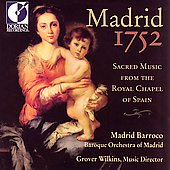 Madrid 1752 - Sacred Music / Wilkins, Madrid Barroco