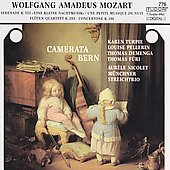 Mozart: Eine Kleine Nachtmusik, etc / Camerata Bern