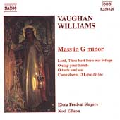 Vaughan Williams: Mass in g, Choral Music / Edison, et al