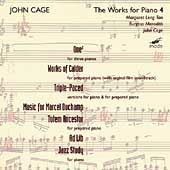 John Cage Edition Vol 25 - The Works for Piano Vol 4 / Tan