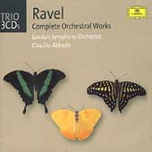 Trio - Ravel: Complete Orchestral Works / Abbado, London SO