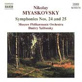 Myaskovsky: Symphonies no 24 & 25 / Yablonsky, Moscow PO