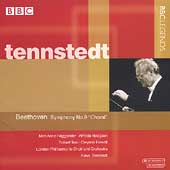 Beethoven: Symphony no 9 / Tennstedt, Haeggander, et al