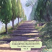 Forgotten Piano Duets Vol 2 / Tony & Mary Ann Lenti