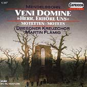 Mendelssohn: Veni Domine, etc / Fl&#228;mig, Dresdner Kreuzchor