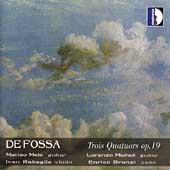 Fossa: Three Quartets / Micheli, Mela, et al