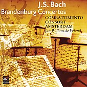 Bach: Brandenburg Concertos / de Vriend, Combattimento