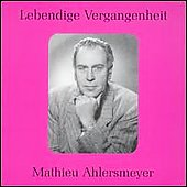 Lebendige Vergangenheit - Mathieu Ahlersmeyer