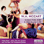 Mozart: Quintet & Quartet / Fine Arts Quartet, et al