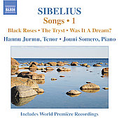 Sibelius: Songs Vol 1 / Hannu Jurmu, Jouni Somero