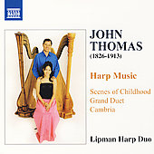 John Thomas: Harp Music  / Lipman Harp Duo