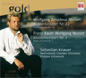 Reference Gold - W.A. Mozart, F.X.W. Mozart: Piano Concertos / Knauer, Entremont, et al
