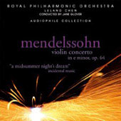 Mendelssohn: Violin Concerto, etc / Glover, Chen, Royal Philharmonic Orchestra