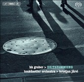 H.K. Gruber: Zeitstimmung [Hybrid SACD]