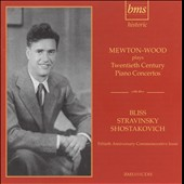 Mewton-Wood Plays 20th Century Piano Concertos