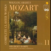 Mozart: Complete Clavier Works, Vol. 11