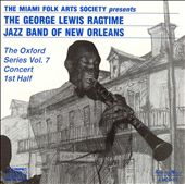 George Lewis (Clarinet): Oxford Series, Vol. 7