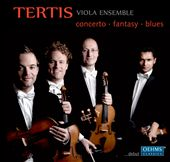 Concerto, Fantasy, Blues -  works for viola ensemble by Bartok, Telemann, Weinzierl, Bowen, Piazzolla et al. / Terteis Viola Ensemble