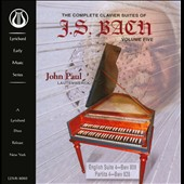 J.S. Bach: The Complete Clavier Suites, Vol. 5: English Suite BWV 809; Partita BWV 828 / John Paul, lautenwerck