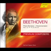 Beethoven: Piano Sonatas Nos. 1, 8, 14, 18, 23, 26, 32 / Gerhard Oppitz, piano