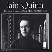 Iain Quinn - The Great Organ, Methuen Memorial Music Hall