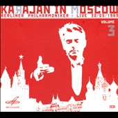 Karajan in Moscow, Vol. 3 - Mozart: Divertiment No. 17; R. Strauss: Ein Heldenleben
