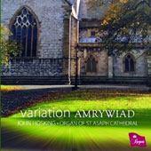 Variation Amrywiad - works by Bonnet, Stocks, Jacobs, Reger, Bach, Briggs, Cochereau, Hosking / John Hosking, organ