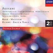 Poulenc: Organ Concerto, Concert Champ&#234;tre, etc
