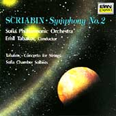 Scriabin: Symphony no 2;  Tabakov: Concerto for Strings