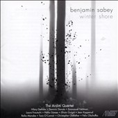 Benjamin Sabey: Winter Shore - music for acoustic instruments with interactive electronics / Arditti Quartet, Hilary Demske, piano; Pablo Gomez, guitar et al.