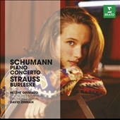Schumann: Piano Concerto in A minor; R. Strauss: Burleske in D minor for piano & orchestra / Hélène Grimaud, piano; Zinman