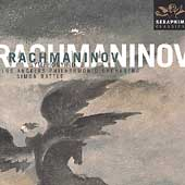 Rachmaninov: Symphony no 2 / Simon Rattle, Los Angeles PO